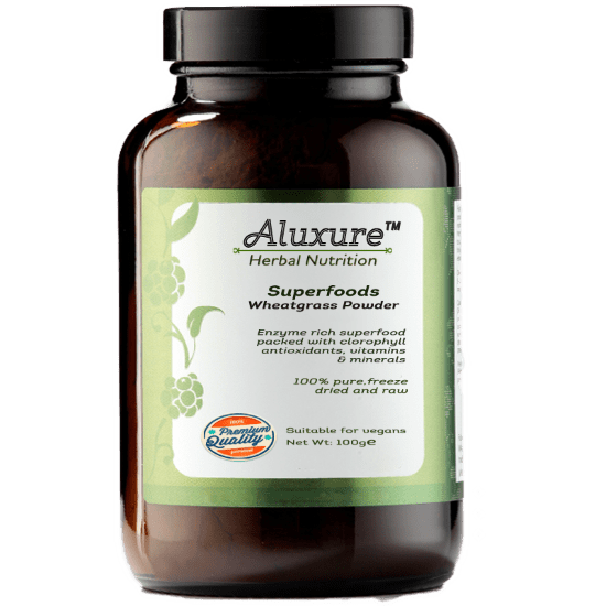 Aluxure-wheatgrass-Powder-100gm (Custom)